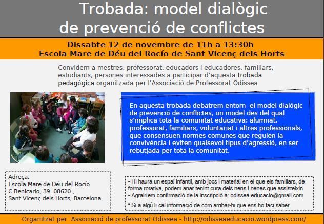 Trobada: model dialògic de prevenció de conflictes