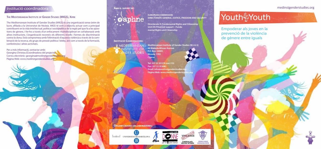 Dissabte 30 de Juny. Formació en prevenció de violència de gènere