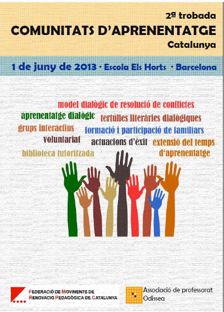 Programa i inscripció a la 2ª Trobada de Comunitats d'Aprenentatge de Catalunya