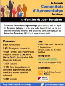 4a Trobada de Comunitats d'Aprenentatge de Catalunya