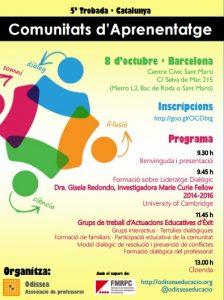 V Trobada de Comunitats d'Aprenentatge de Catalunya